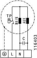 Ruck buisventilator RS 350m³/h diameter 125 mm - RS 125L 10-3