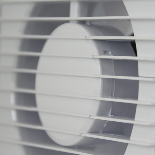 Badkamer Ventilator Zuinig Stil Met Timer Ventilatieland