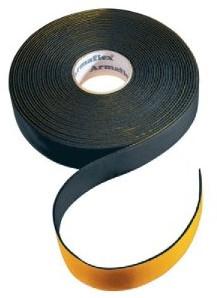 Isolatietape neutraal 50mm - zwart (rol 15m) (20051074)