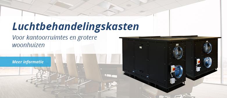 Luchtbehandelingskasten voor kantoorruimtes en woonhuizen. CLIMA 2000 3000 4000 ECO PLUS incl. Regin controller