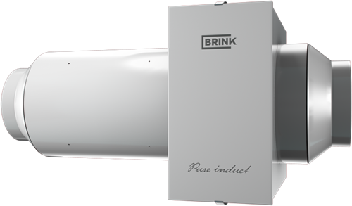 Brink Pure induct - WTW ionisatie filterbox