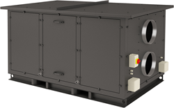 Luchtbehandelingskast CLIMA 3000 ECO PLUS ( incl. Regin controller met display) 3000 m3/h