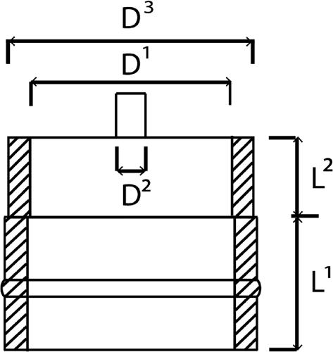 DW Condensdop technische tekening