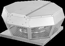 Ruck dakventilator horizontaal met energiezuinige EC-motor (DHA EC-serie)