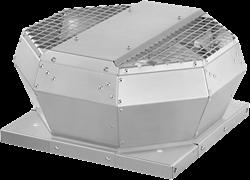 Ruck dakventilator verticaal met energiezuinige EC-motor (DVA EC-serie)