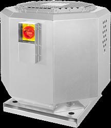 Ruck dakventilator verticaal voor keukenafzuiging tot 120°C en geluiddempend (DVNI-serie)