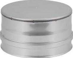 DW diameter  100 mm (100/150) deksel I316L/I304 (D0,5/0,6)