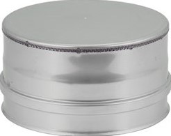 DW Ø 130 mm (130/180) deksel I316L/I304 (D0,5/0,6)