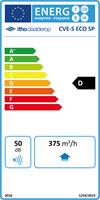 Energielabel Itho Daalderop CVE S ECO SP
