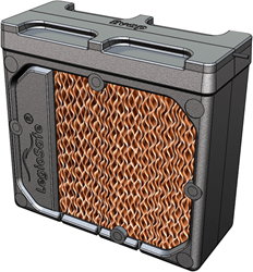 HomEvap vervangingscassette bevochtiger - matrix en legionellafilter