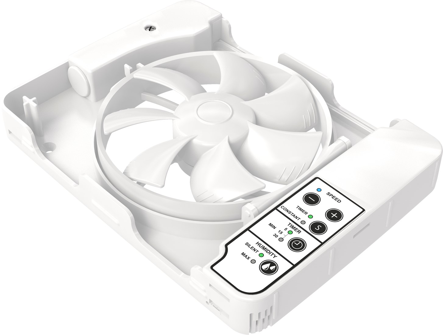 Vent-Axia Lo-Carbon iQ badkamerventilator Fresh Intellivent Ø100 - 125