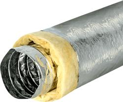 Isodec thermisch 203 mm geisoleerde ventilatieslang (10 meter)