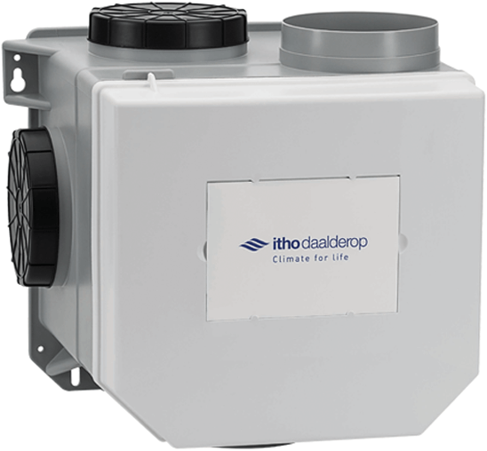Itho CVE-S eco fan ventilator SE 325m3/h + vochtsensor + RFT ...