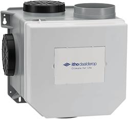 Itho Daalderop CVE-S eco fan ventilator box high performance RFT HP 415m3/h + vochtsensor - perilex stekker 03-00403