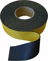 Isolatietape neutraal 75mm - zwart-1