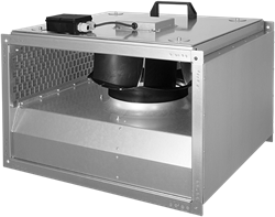 Ruck kanaalventilator geïsoleerde (KVRI-serie)