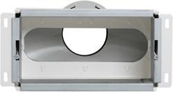 Uniflexplus wandcollector achteraansluiting 1x Ø 90 mm (VMCA 90)