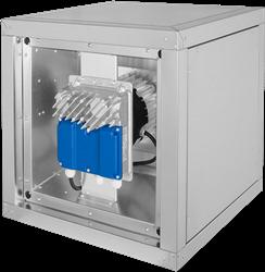 Ruck boxventilator met energiezuinige EC-motor buiten de luchtsroom (MPC EC T-serie)
