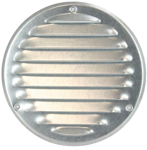 Metalen ventilatierooster rond Ø 125mm zink - MR125ZN