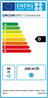 Energielabel Orcon Smartline