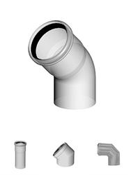 Rookgasafvoeren RVS en PP kunststof