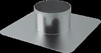 Plakplaat voor WTW Thermoduct dakdoorvoer 150mm