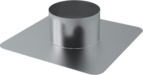 Plakplaat voor WTW Thermoduct dakdoorvoer 250mm