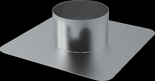 Plakplaat voor WTW Thermoduct dakdoorvoer 355mm