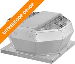 Ruck dakventilator verticaal met energiezuinige EC-motor (DVA EC-serie) OP = OP