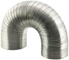Aluminium semi-flexibele (starre) ventilatiebuis