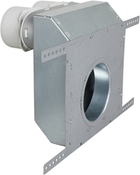 Uniflexplus wand-ventielcollector ex. ventiel 2x Ø75 mm (WVC 75)