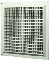 Ventilatieroosters vierkant met grill