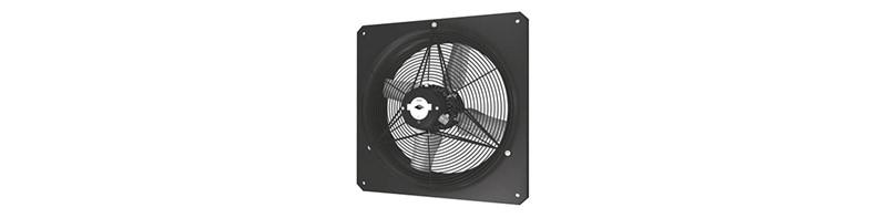 Axiaal ventilator aRok vierkant diameter 250mm