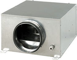 Boxventilator akoestisch geïsoleerd 1200 m3/h diameter 250mm - KSB250