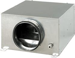 Boxventilator akoestisch geïsoleerd 300 m3/h diameter 125mm - KSB125
