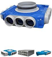 Uniflexplus 63 mm verdeelboxen