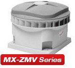 Zehnder MX zmv zelfregelende dakventilatoren