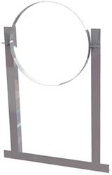 Aluminium dakbeugel voor spirobuis diameter 630mm