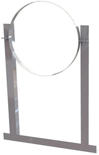 Aluminium dakbeugel voor spirobuis diameter 355mm