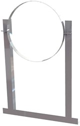 Aluminium dakbeugel voor spirobuis diameter 225mm