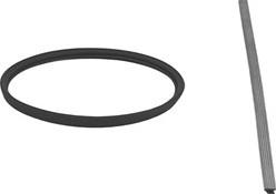 Afdichtingsrubber diameter 500 mm VITON