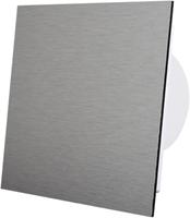 Badkamer ventilator geborsteld aluminium