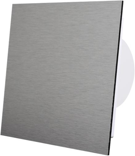 Badkamer Ventilator Diameter 125 Mm Front Geborsteld Aluminium