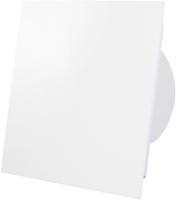 Badkamer ventilator wit (mat) glazen front