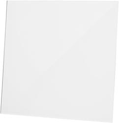 Front dRim kunststof glanzend wit (01-160)