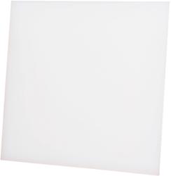 Front dRim kunststof mat wit (01-161)