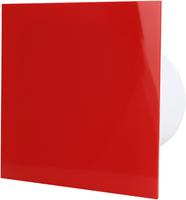 Badkamer ventilator rood