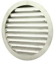 Aluminium buitenlucht muur rooster Ø 315mm - MRA315-1