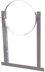 Aluminium dakbeugels spirobuis