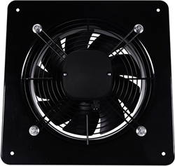 Axiaal ventilator vierkant 250mm – 1215m³/h – aRok